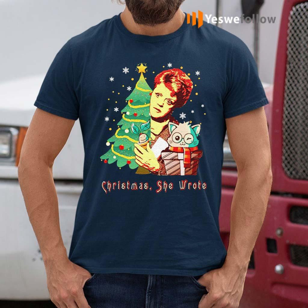 Angela-Lansbury-Christmas-She-Wrote-Shirts