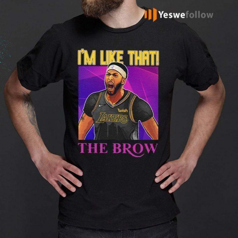 Anthony-Davis-I'm-Like-That-The-Brow-TShirt