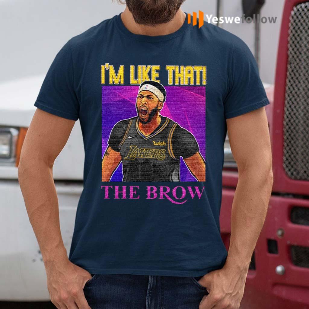 Anthony-Davis-I'm-Like-That-The-Brow-TShirts