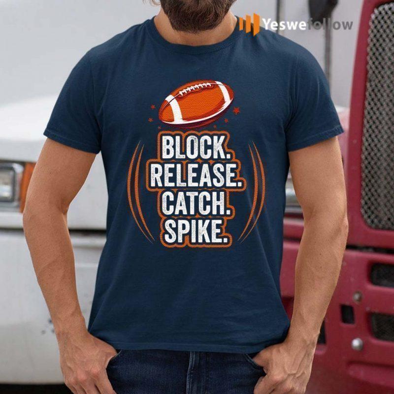 Block-Release-Catch-Football-Spike-Movements-for-Fan-T-Shirt