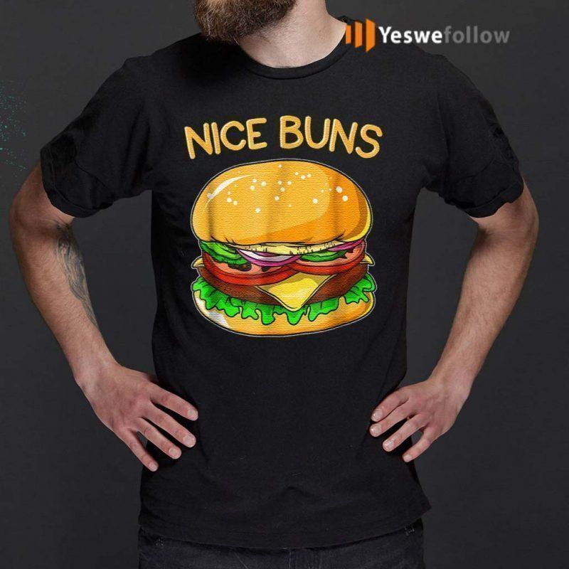 Burger-Hamburger-Cheeseburger-Nice-Buns-T-Shirts