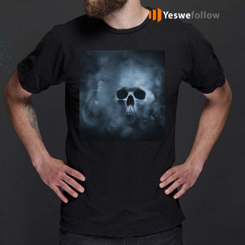 Cloudy-Skull-Classic-T-Shirt