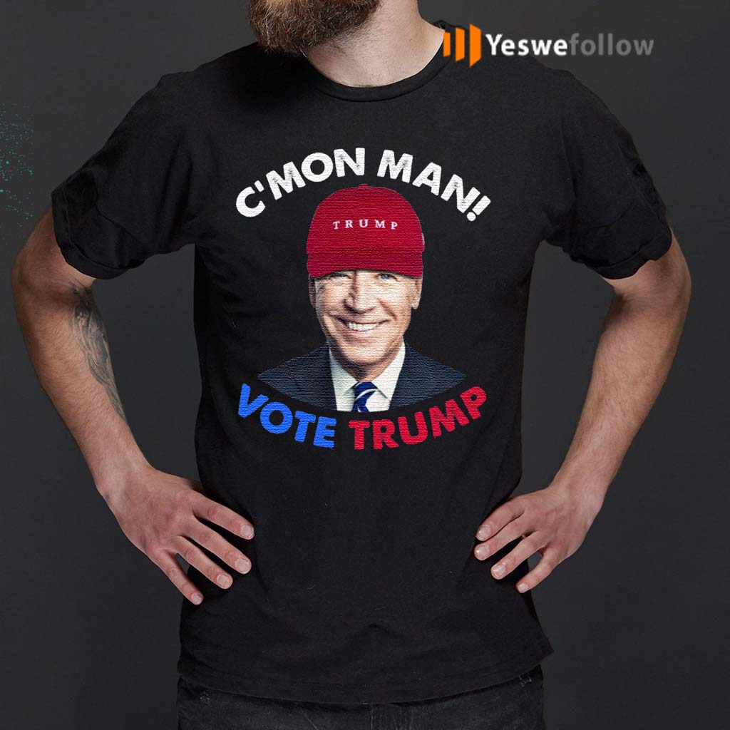 C'mon-Man-Vote-Trump-Pro-Trump-2020-Election-T-Shirt