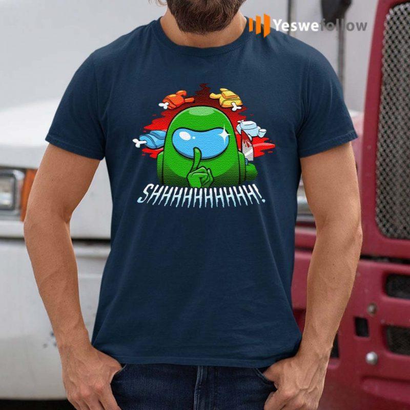 Cool-Among-Us-SHHHHHH!-Shirts