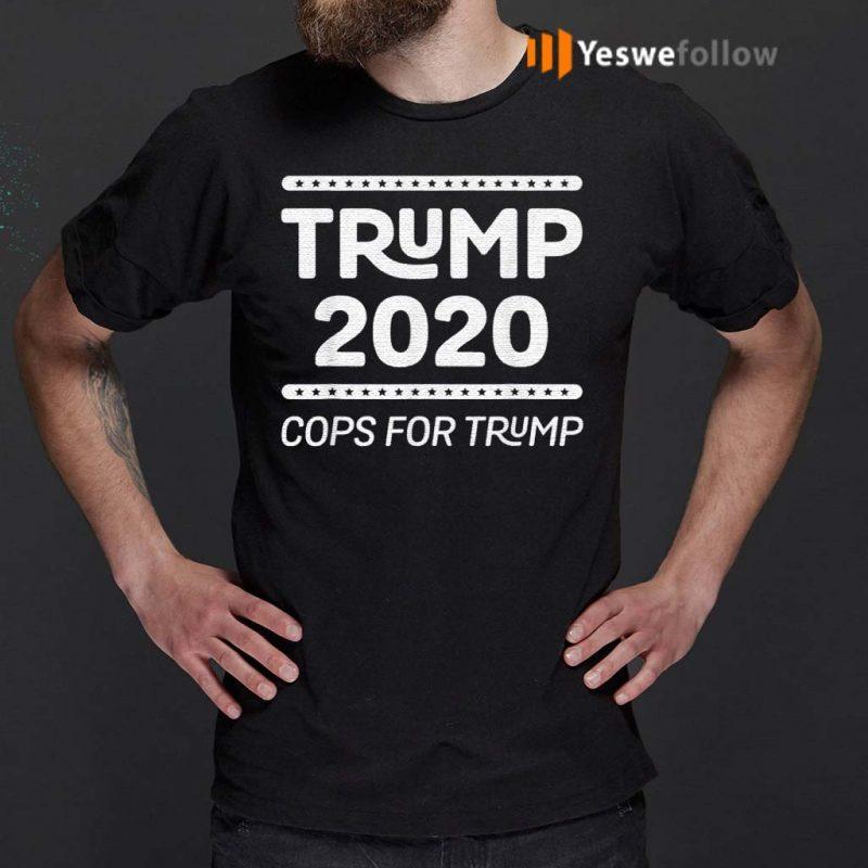 Cops-For-Trump-2020-Law-Enforcement-For-Trump-T-Shirt