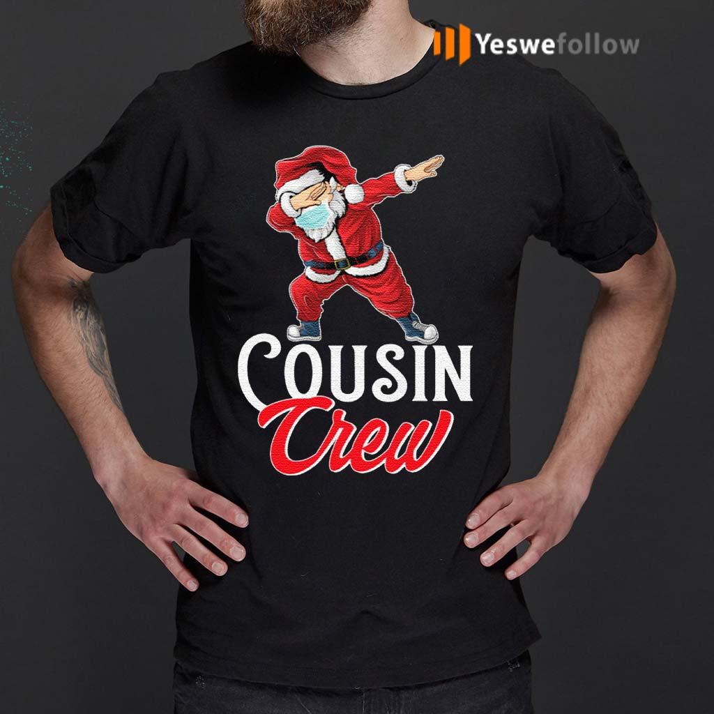 Cousin-Crew-Santa-Dab-Christmas-T-Shirt