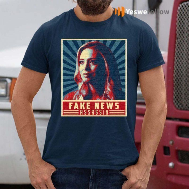 Fake-News-Assassin-Kayleigh-Press-Secretary-Mcenany-T-Shirts