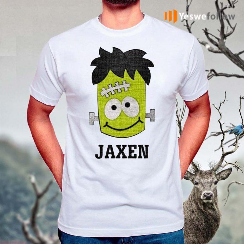 Frankenstein-Jaxen-Halloween-shirt