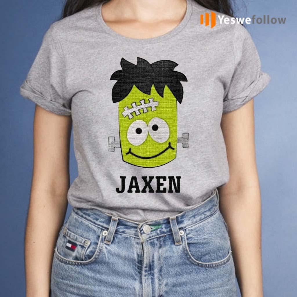 Frankenstein-Jaxen-Halloween-shirts