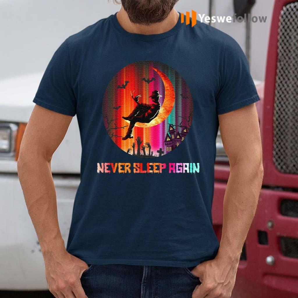 Freddy-Never-Sleep-Again-–-Halloween-Horror-Movie-T-Shirt