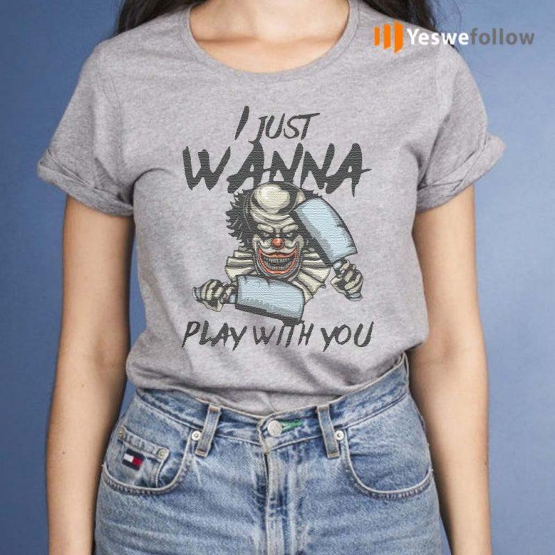 Halloween-Joker-I-just-wanna-play-with-you-shirts