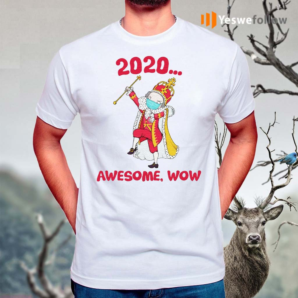 Hamilton-George-King-2020-Awesome-Wow-Quarantine-Christmas-T-shirts