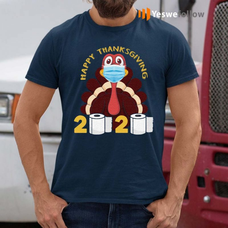 Happy-Thanksgiving-2020-Turkey-Face-Mask-Funny-Quarantine-Gift-T-Shirt