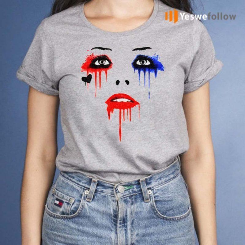 Harley-Quinn-Face-Tee-Shirt