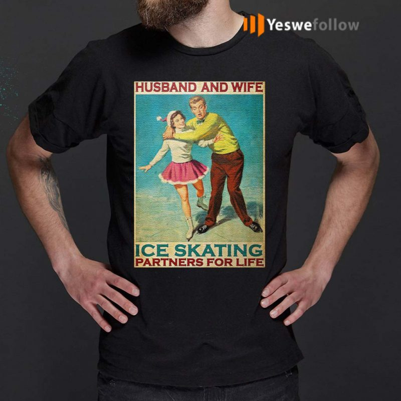 Husband-and-wife-ice-skating-partners-for-life-t-shirt