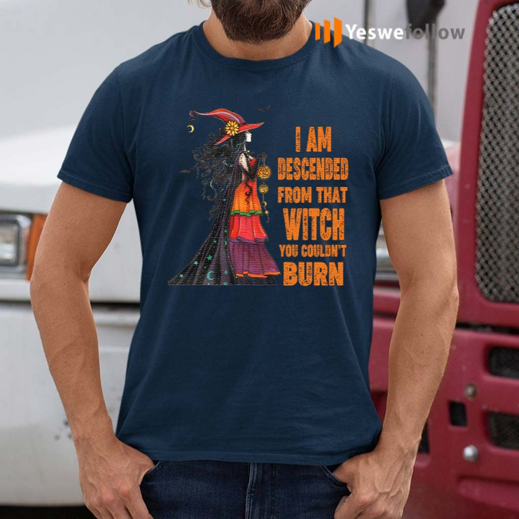 I-Am-Descended-From-That-Witch-You-Couldn't-Burn-Shirts