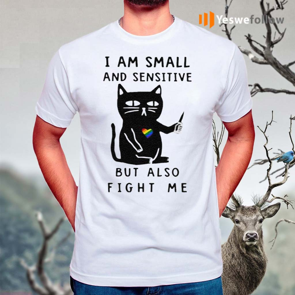 I-Am-Small-And-Sensitive-But-Also-Fight-Me-Shirts