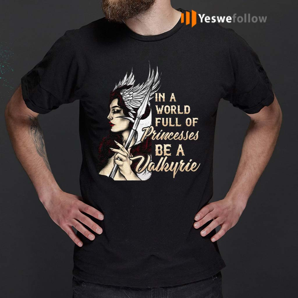 In-A-World-Full-Of-Princesses-Be-A-Valkyrie-T-Shirts