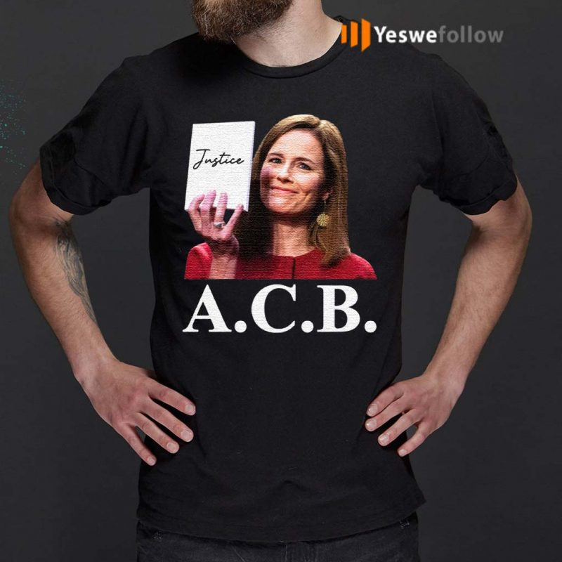 Judge-Notorious-ACB-Amy-Coney-Barrett-Empty-Note-Pad-No-Notes-Justice-T-Shirt