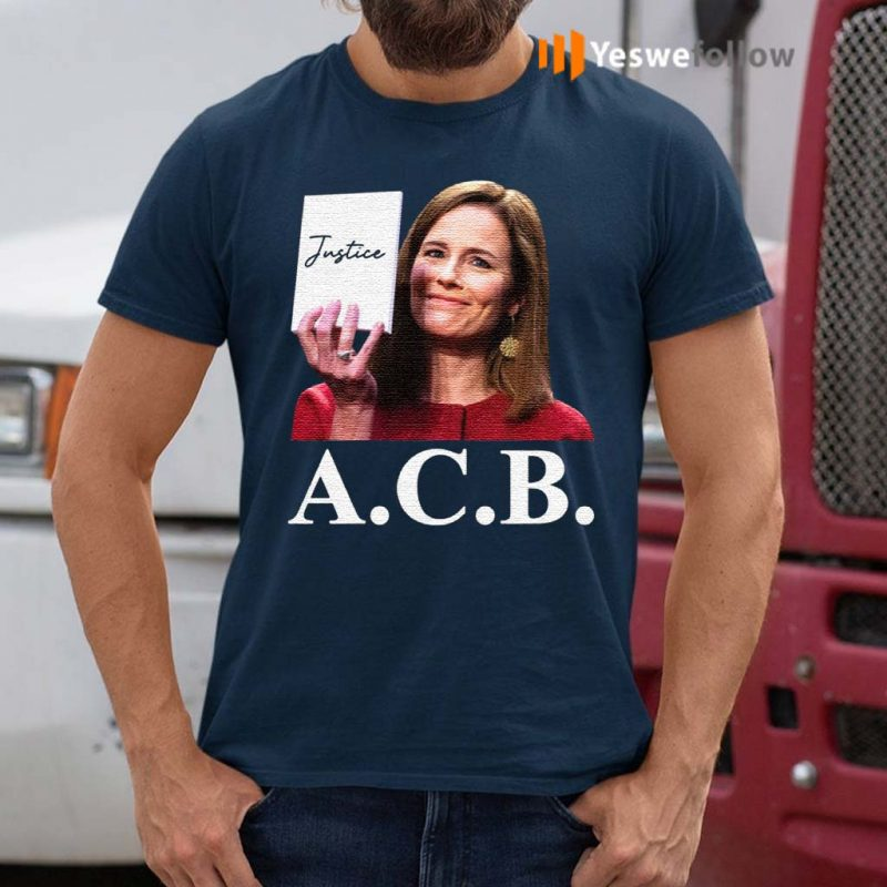 Judge-Notorious-ACB-Amy-Coney-Barrett-Empty-Note-Pad-No-Notes-Justice-T-Shirts