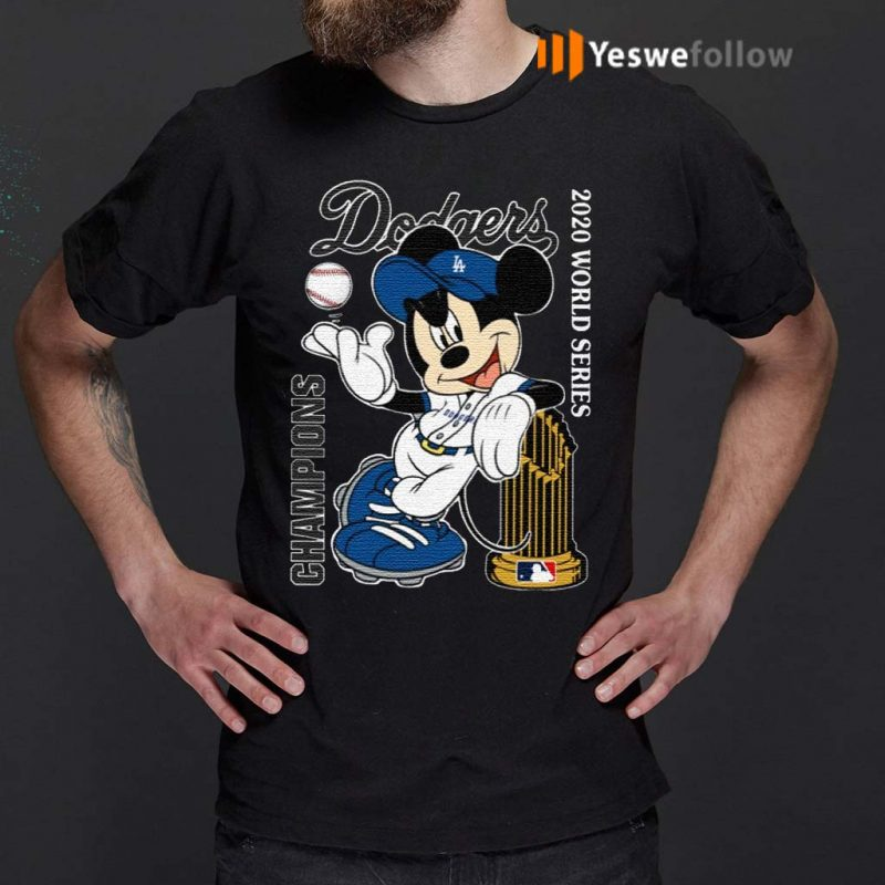 Mickey-Mouse-Dodgers-Championship-2020-Shirt