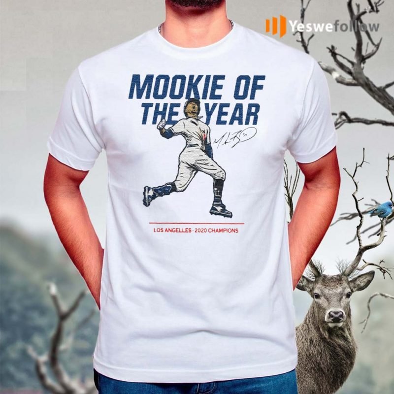 Mookie-Of-The-Year-Los-Angelles-2020-Champions-T-Shirts