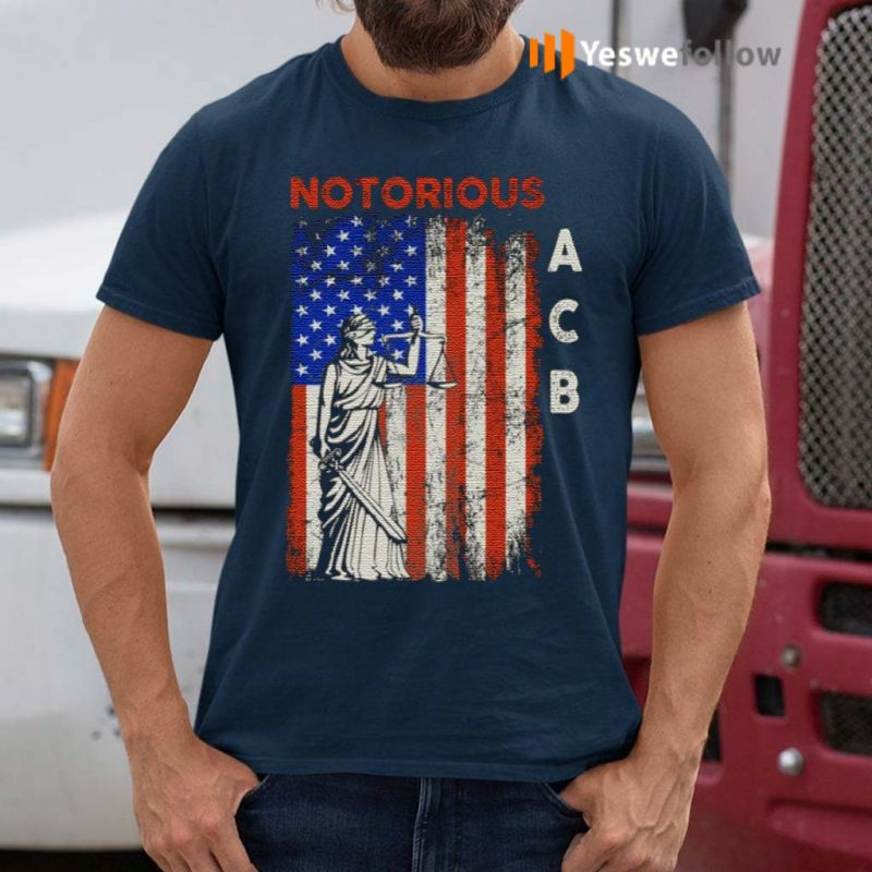 Notorious-ACB-Amy-Coney-Barrette-Supreme-Court-Lady-Justice-Republican-T-Shirt