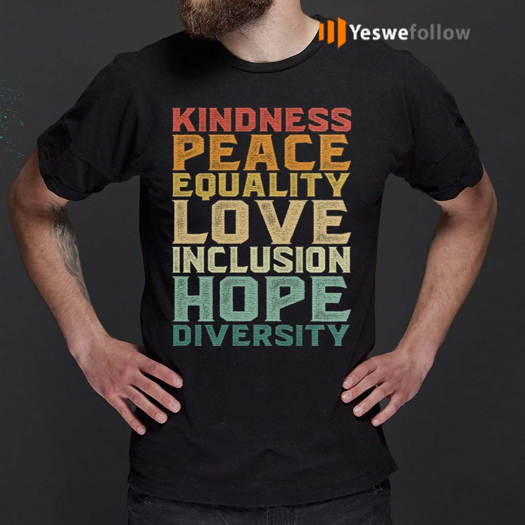 Peace-Love-Diversity-Inclusion-Equality-Human-Rights-T-Shirt