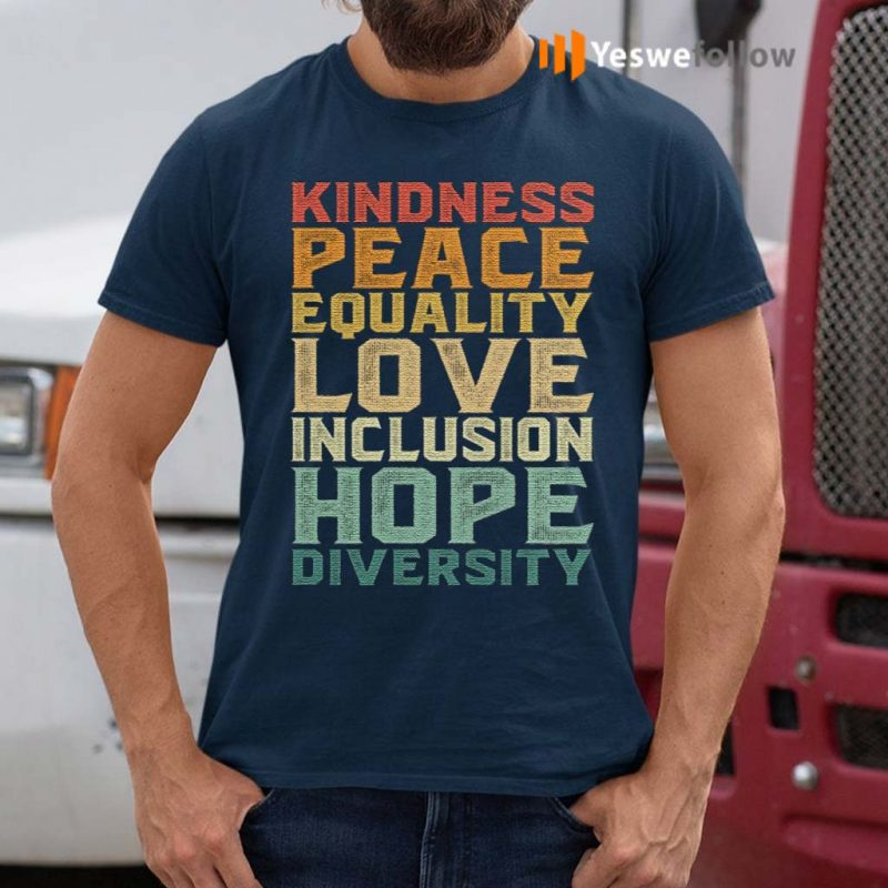 Peace-Love-Diversity-Inclusion-Equality-Human-Rights-T-Shirts