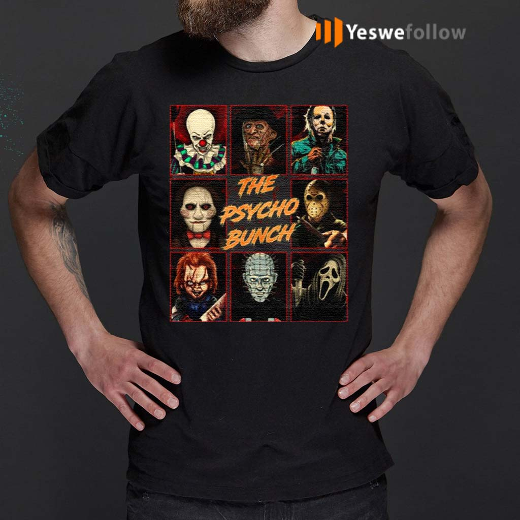 Psycho-Bunch-Horror-Movie-Characters-T-Shirt
