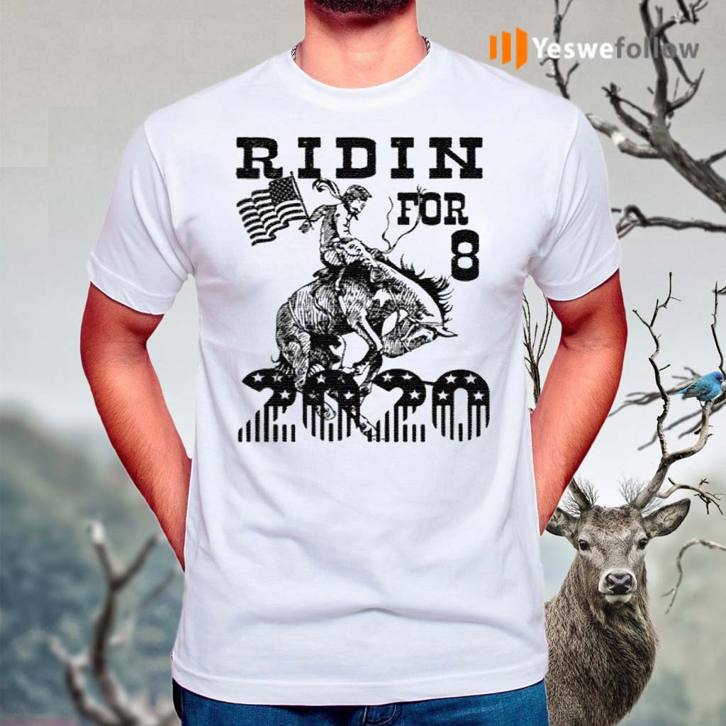 Ridin-For-8-2020-T-Shirt