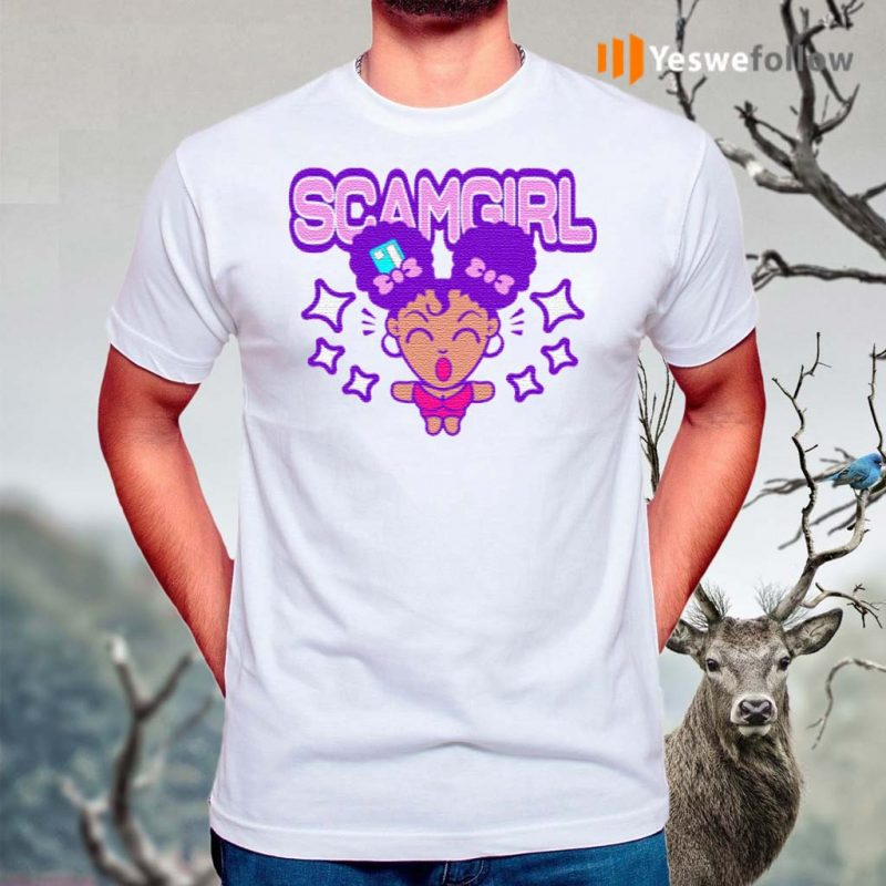 Scam-Girl-T-Shirts