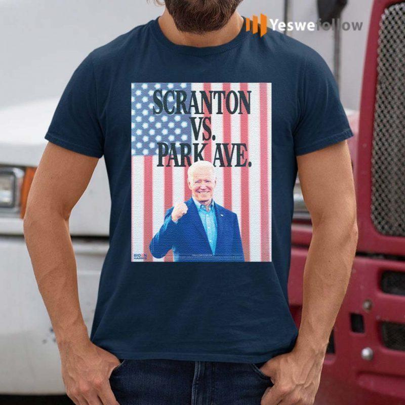 Scranton-Vs.-Park-Ave-T-Shirt