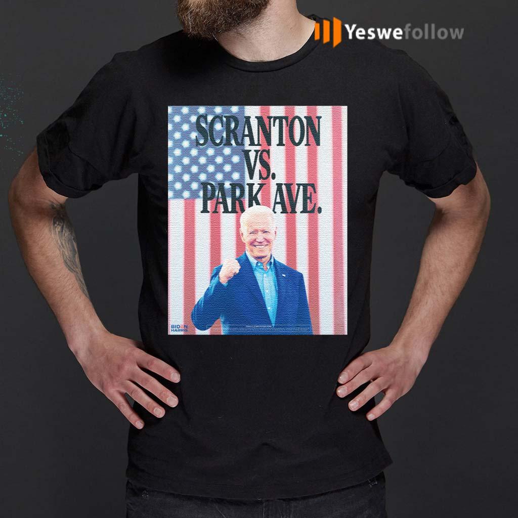 Scranton-Vs.-Park-Ave-T-Shirts