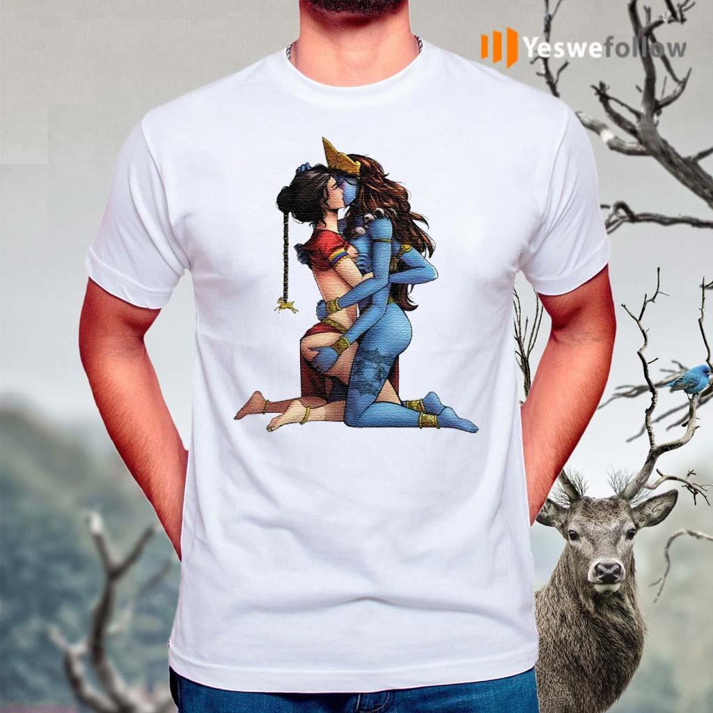Sexy-Hindu-Goddess-Kali-and-Sita-Hinduism-LGBT-shirt