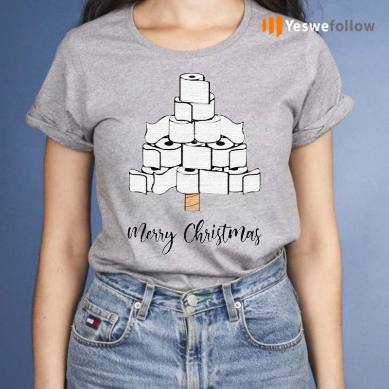 Toilet-Paper-Merry-Christmas-Tree-2020-Shirt
