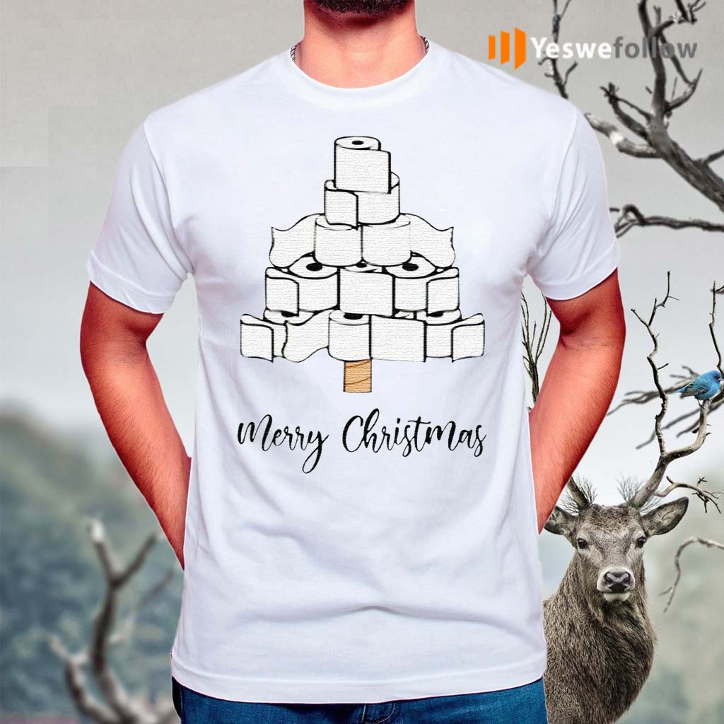 Toilet-Paper-Merry-Christmas-Tree-2020-Shirts