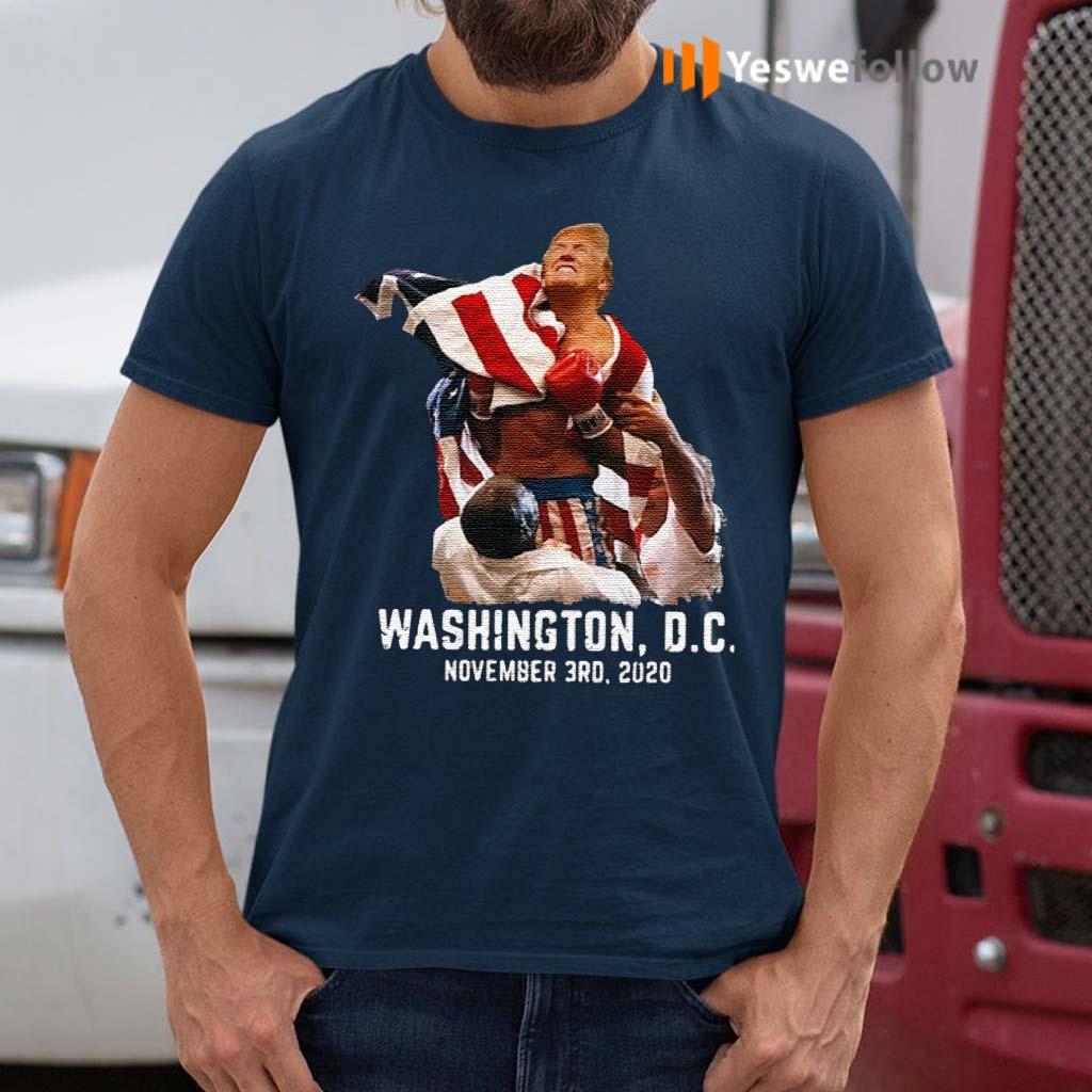 Trump-boxing-Washington-DC-November-3RD-2020-Shirt