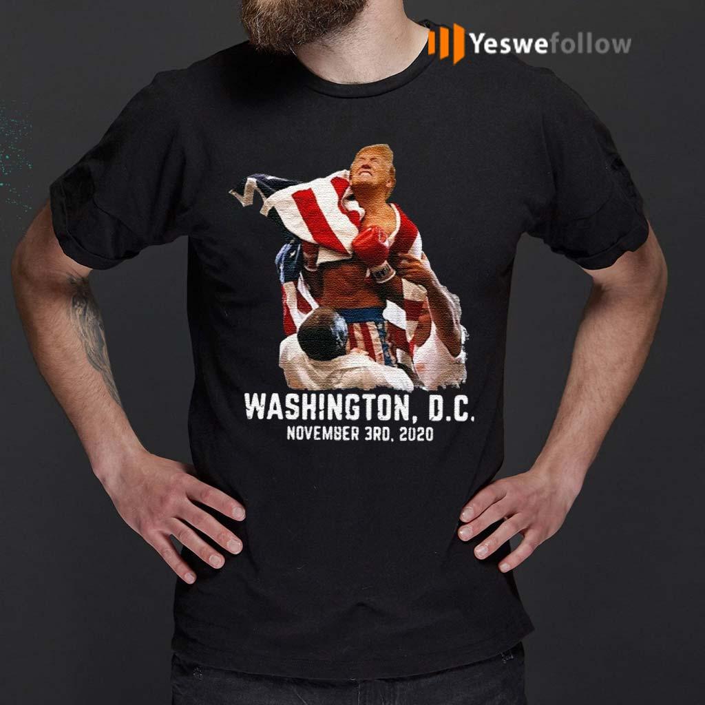 Trump-boxing-Washington-DC-November-3RD-2020-Shirts