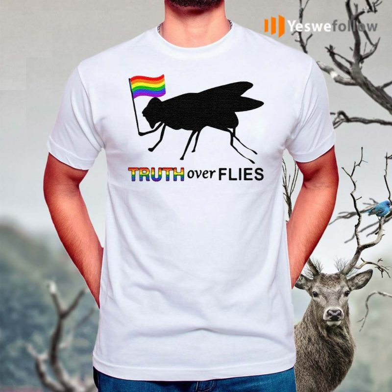 Truth-Over-Flies-Funny-Donald-Trump-President-2020-Vote-T-Shirt