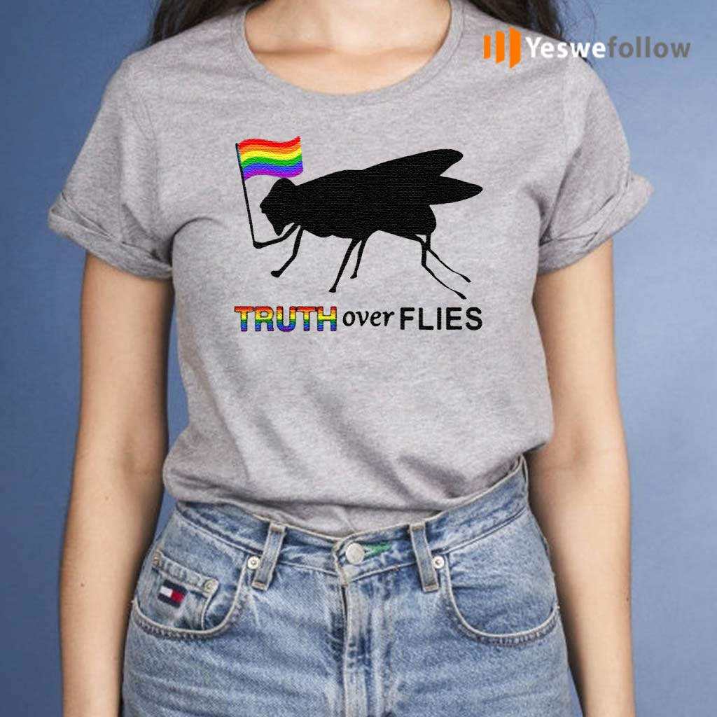 Truth-Over-Flies-Funny-Donald-Trump-President-2020-Vote-T-Shirts