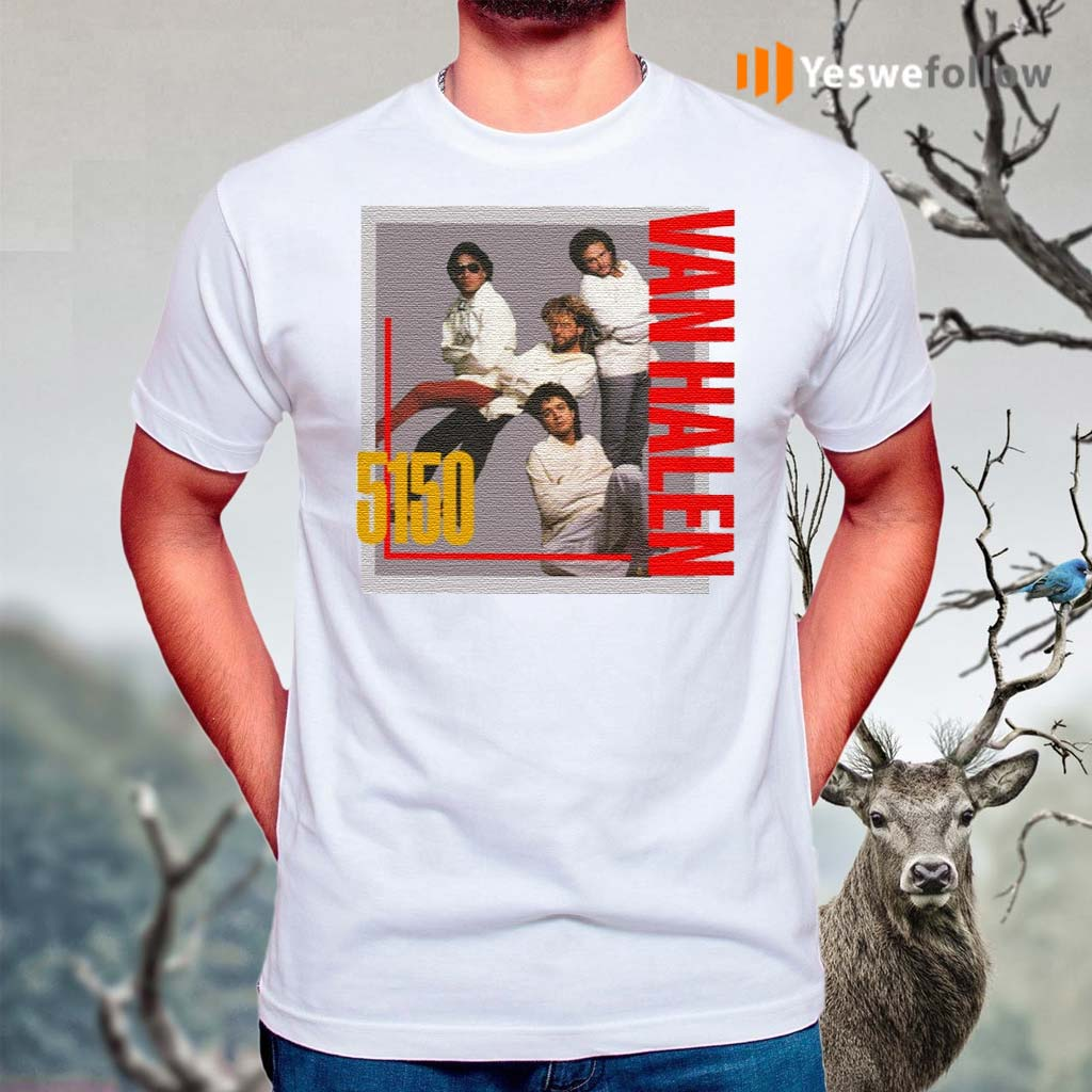 Van-Halen-5150-Shirts