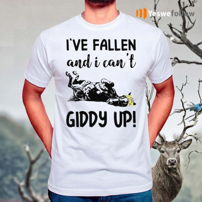 horse-i've-fallen-and-i-cant-giddy-up-t-shirt