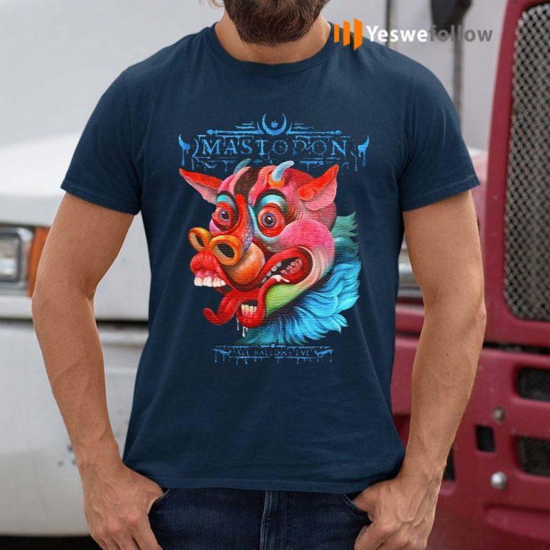 mastodon-all-halloween-t-shirt