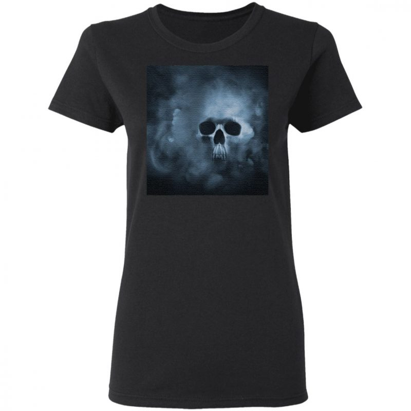 Cloudy Skull Classic T-Shirt