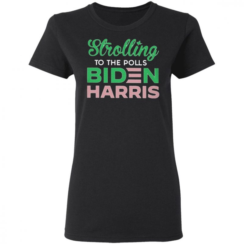 Stroll To The Polls Biden Harris T Shirt