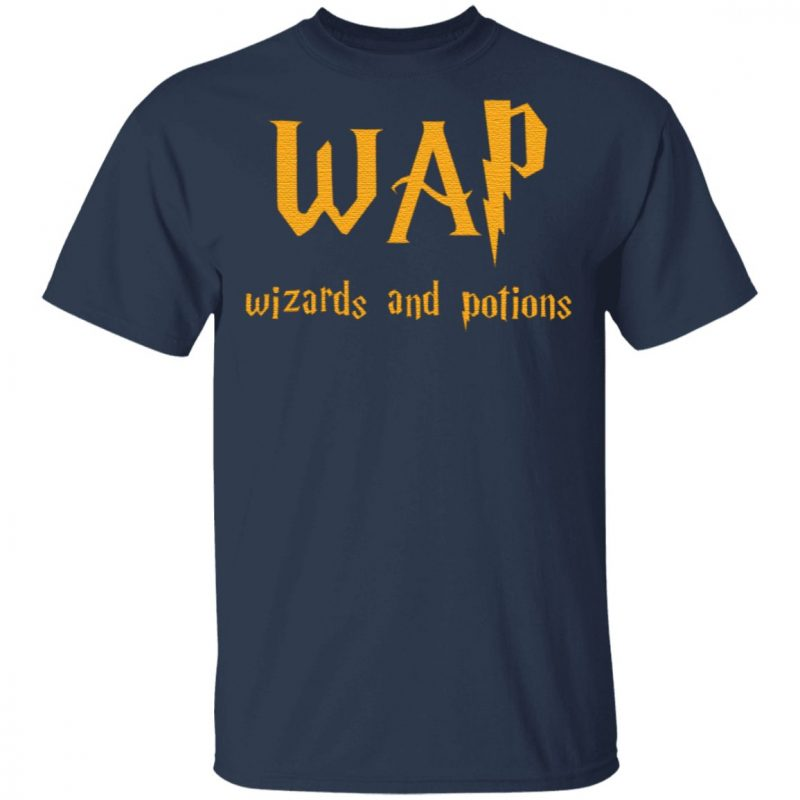 Wap Wizards And Potions T Shirt