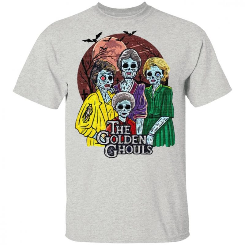 Happy Halloween The Golden Ghouls T-Shirt
