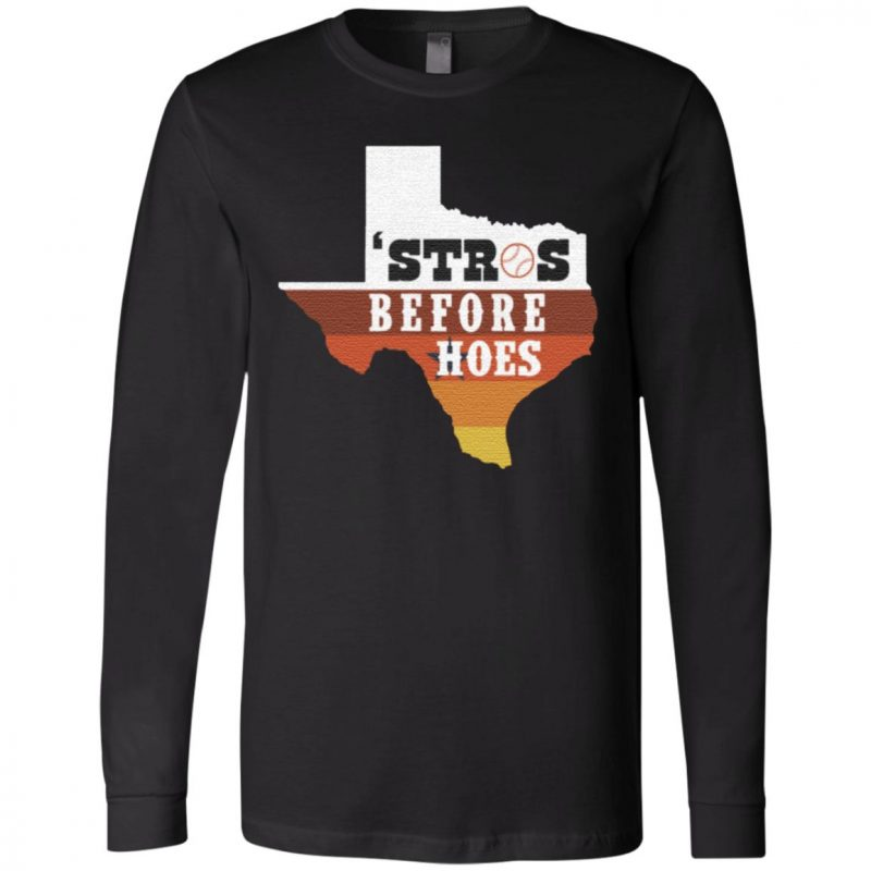 Houston Astros Texas Stros Before Hoes T-Shirt