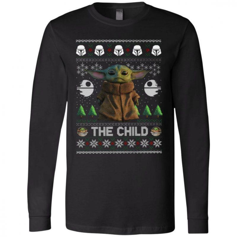 The Child Baby Yoda Ugly Christmas T Shirt